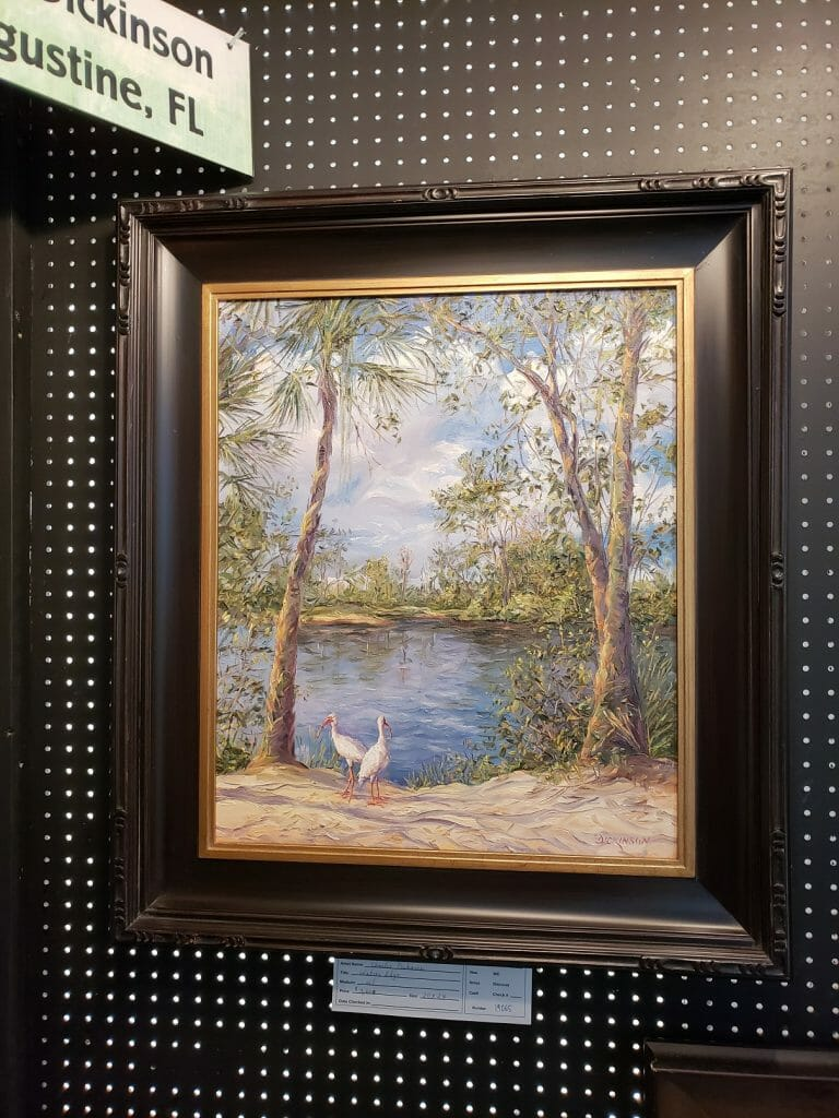 Plein Air Artist Charles Dickinson brings his amazing talents to the Wekiva Paint Out.