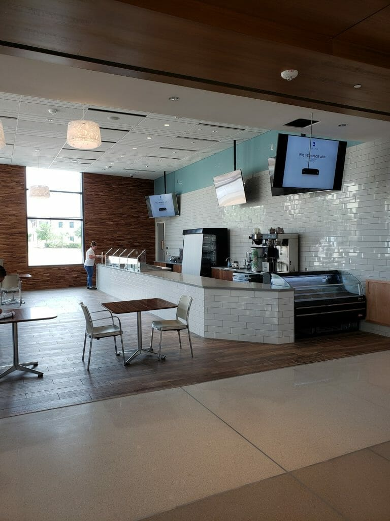 The new Nourish Coffee Bar & Kitchen inside the Center for Health & Wellbeing, which officially opens its doors Monday, is holding a public open house Sunday 1 - 5.